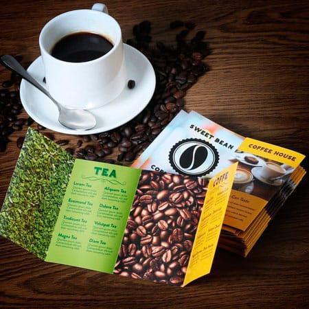 Thực đơn cafe - dạng menu cực nhỏ - cực đáng yêu