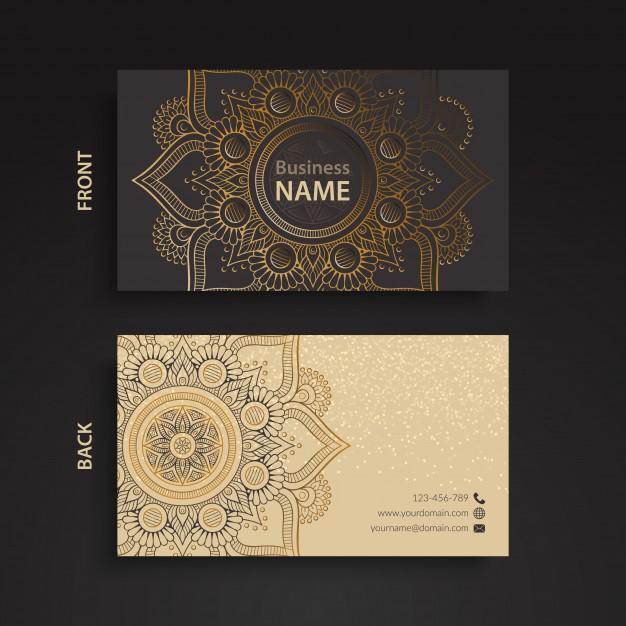 Template thiết kế danh thiếp miễn phí