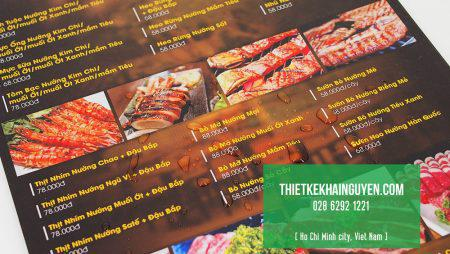 Giới thiệu toàn tập về menu dạng tờ rời hot nhất.