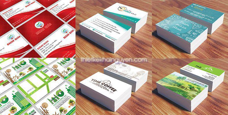 Làm card visit nhà hàng - in ấn & thiết kế