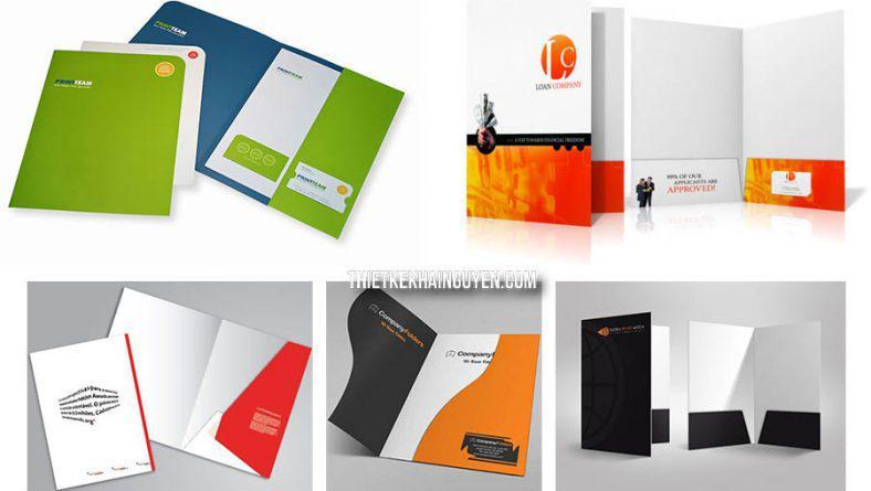 Mẫu tay gấp folder - tai gấp folder