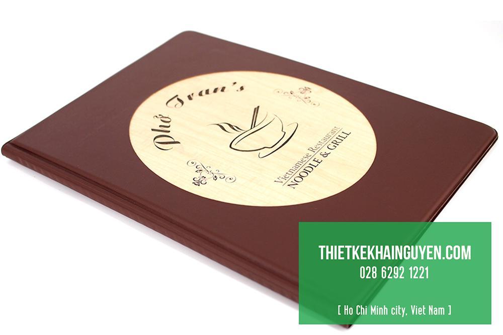 Thực đơn gỗ mới - thực đơn gỗ phở Trang
