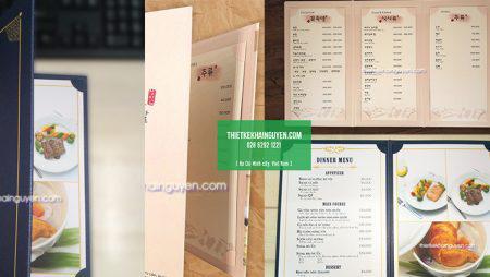 Giới thiệu loại menu mới: Menu nẹp góc rời – loại menu thay giá mới nhất
