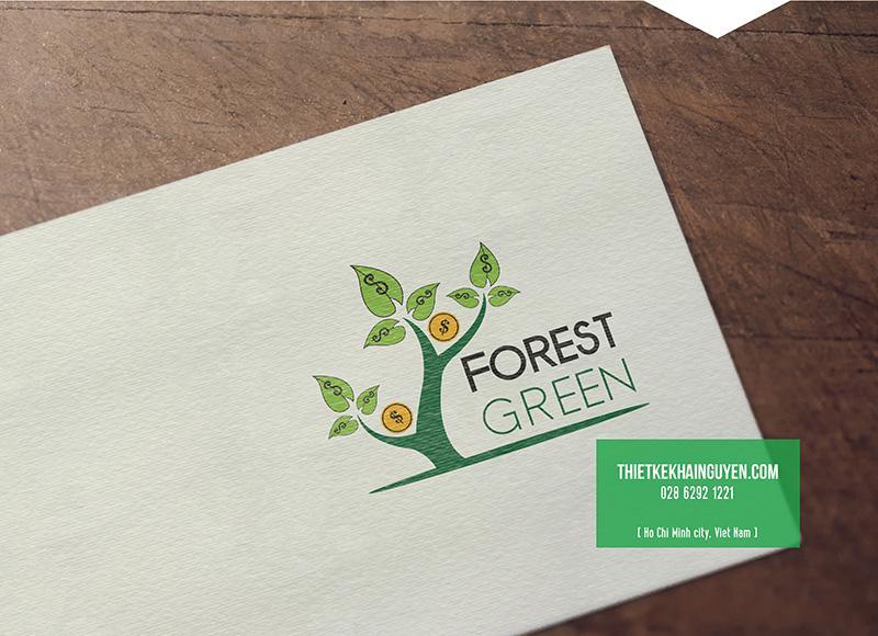 Forest Green Logo công ty tài chính