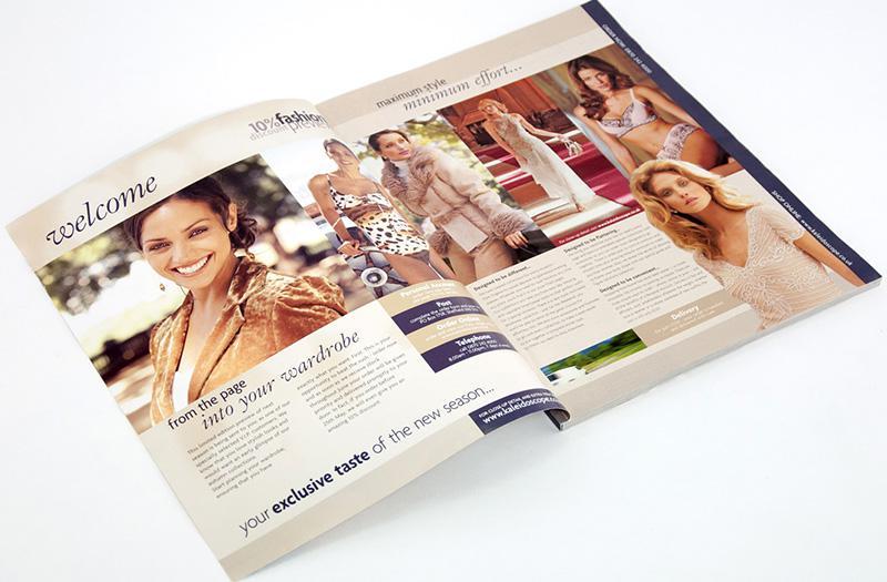 Mẫu in catalogue thời trang