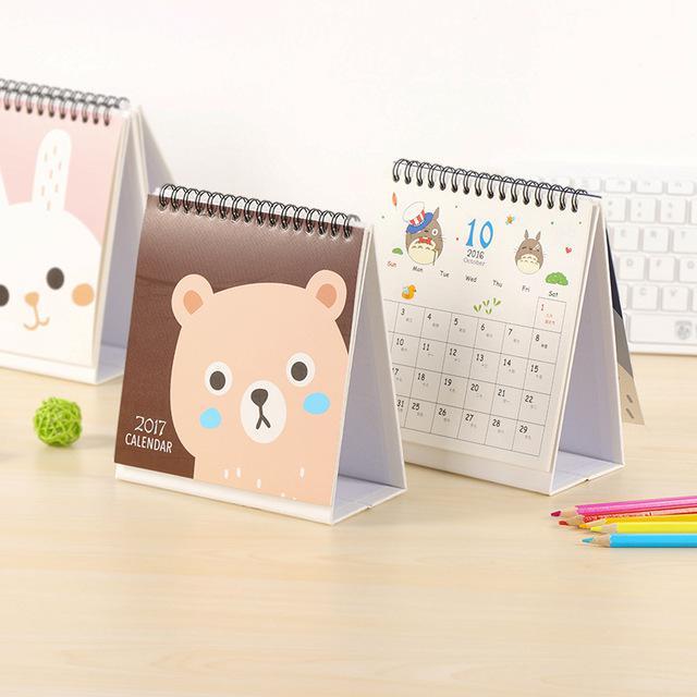 Làm lịch để bàn đế chữ A bìa bồi carton cứng - chuẩn đẹp bền