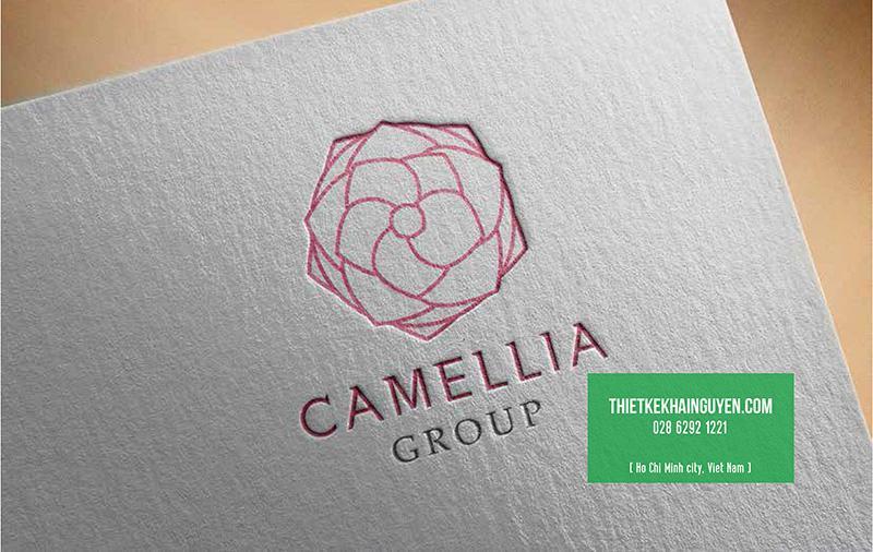 Mẫu thiết kế logo Camellia Group