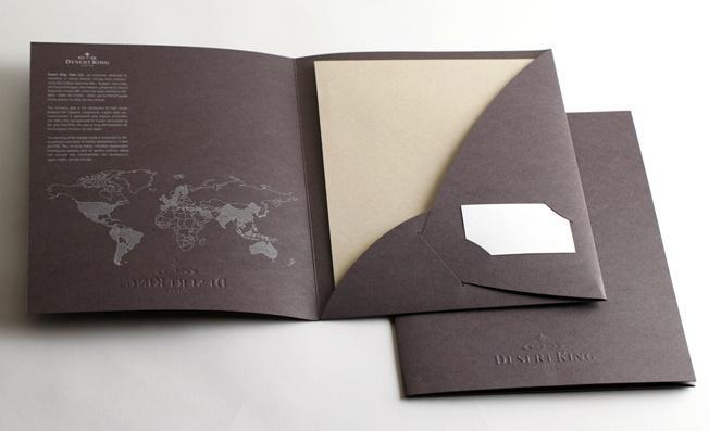 Mẫu bìa kẹp hồ sơ sử dụng công nghệ kéo nhũ bạc