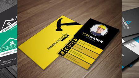 Mẫu thiết kế card visit công ty chuyên nghiệp