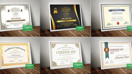 10 mẫu bằng chứng nhận – giấy chứng nhận có sẵn mới nhất.