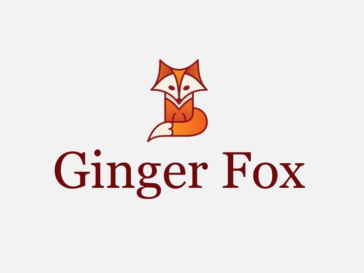 Thiết kế logo với biểu tượng Cáo Xinh