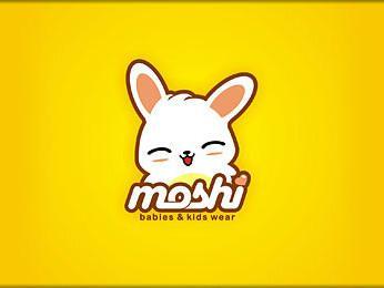 Logo hoạt hình siêu dễ thương với hình tượng chú thỏ nhí nhảnh