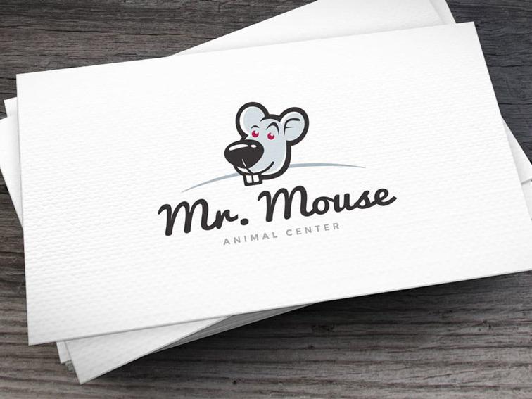 Mr.Mouse chọn chú chuột làm hình tượng thiết kế logo