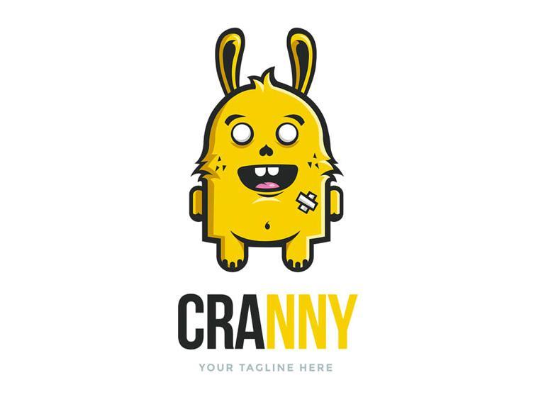 Giới thiệu mẫu thiết kế logo nhân vật hoạt hình của thương hiệu CRANNY