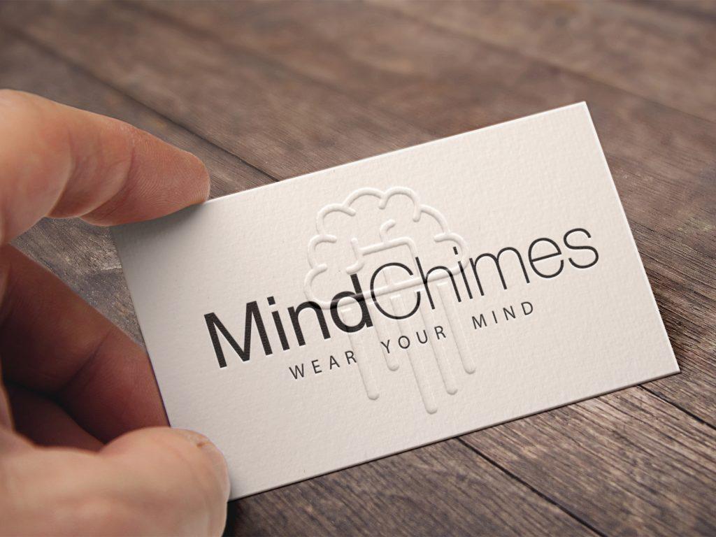In name card dập nổi logo không màu