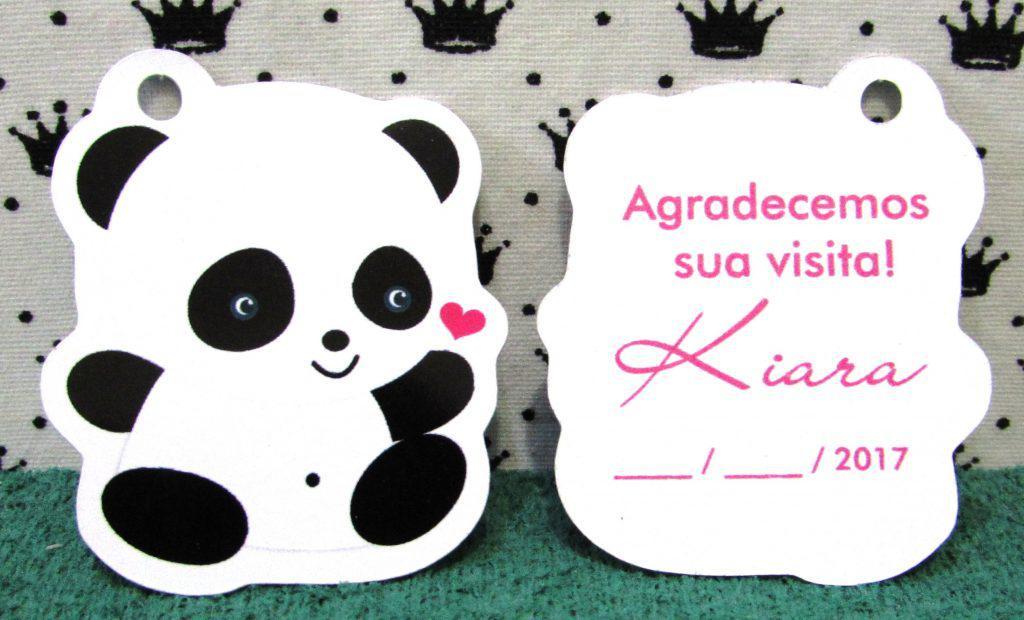 Ấn tượng với mẫu thiết kế tag treo hình panda