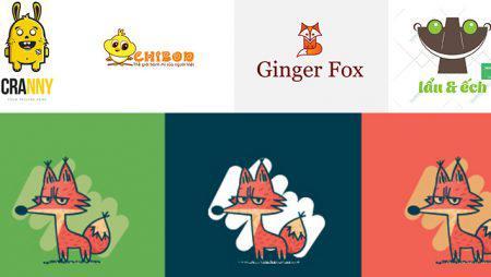 Thiết kế logo hoạt hình – ý tưởng thiết kế logo sáng tạo