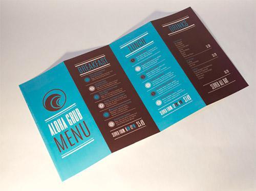 In brochure lấy gấp - brochure gấp 4