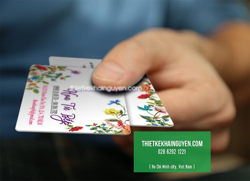 In thẻ nhựa PVC cao cấp tại tphcm