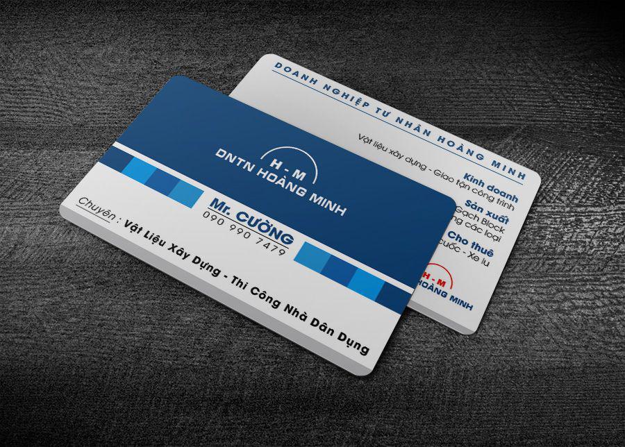 Đặt in ấn và thiết kế thẻ nhựa nhanh chuẩn đẹp