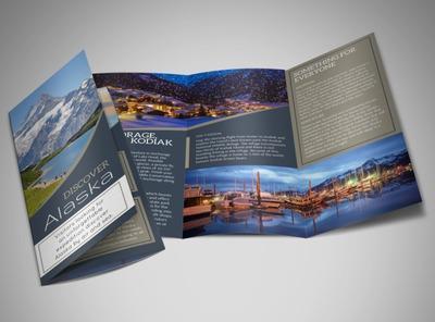 Thiết kế brochure đẹp dành cho lĩnh vực nhà hàng, khách sạn, du lịch