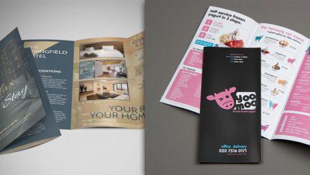 10 mẫu brochure đẹp – ấn tượng với các mẫu brochure gấp 3