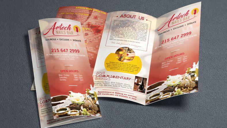 Làm brochure chuyên nghiệp - nguyên tắc về font chữ