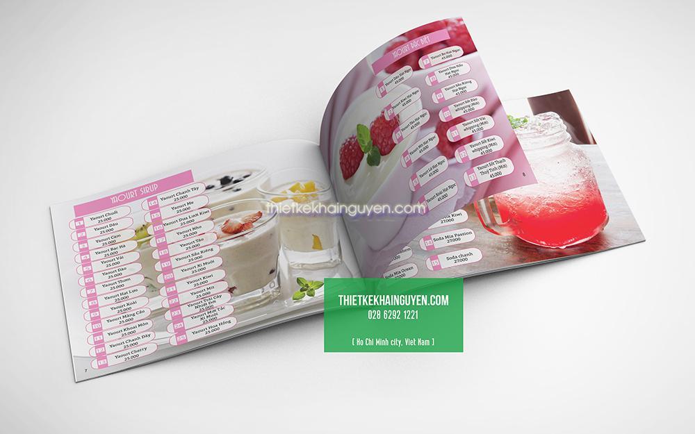 Hình ảnh đẹp giúp thiết kế menu đẹp hơn