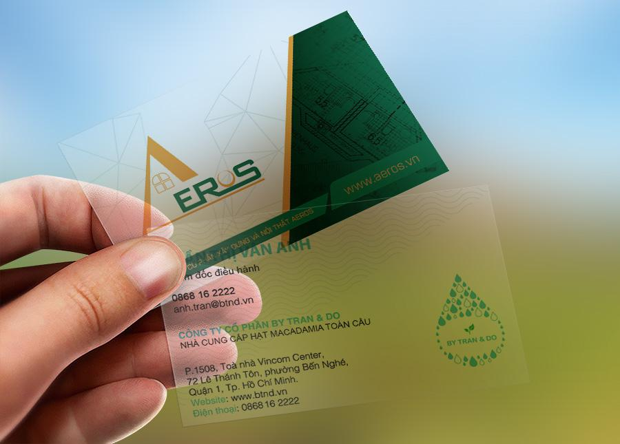 Mẫu in thẻ nhựa trong - card nhựa trong