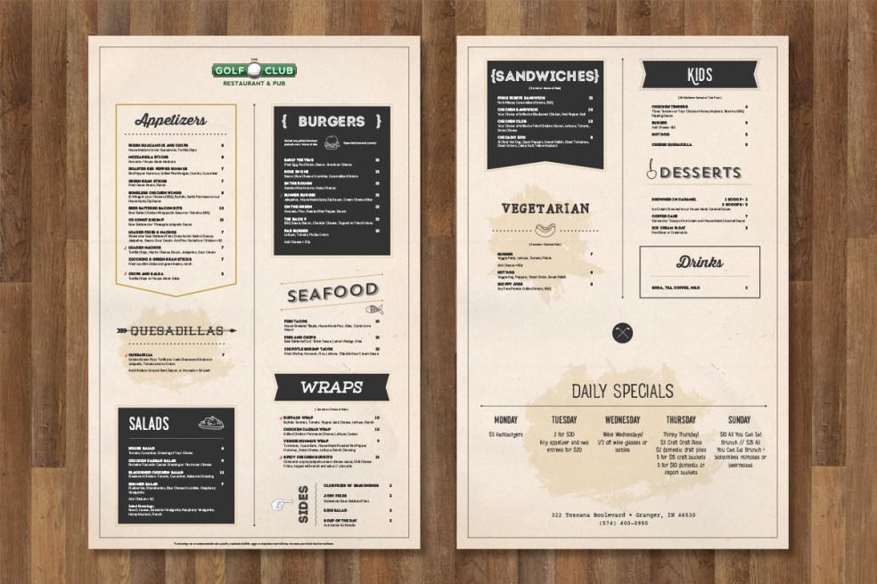 Phân nhóm menu hợp lý là cách thiết kế menu đơn giản để giúp khách hàng của bạn thêm đói
