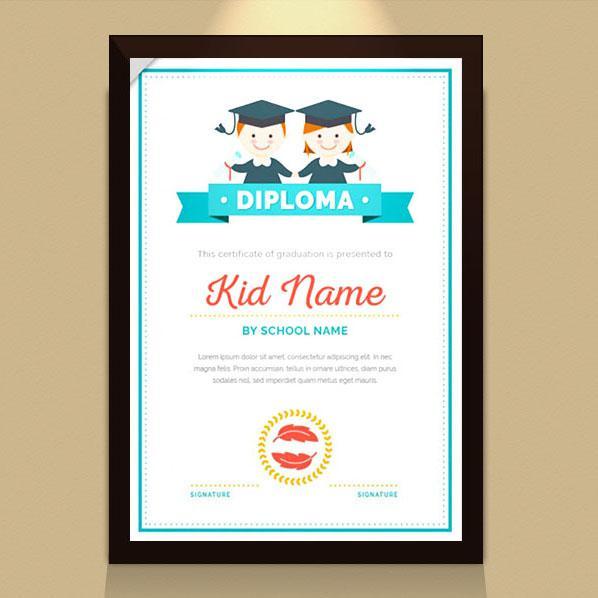 Thiết kế bằng khen - giấy chứng nhận cho học sinh