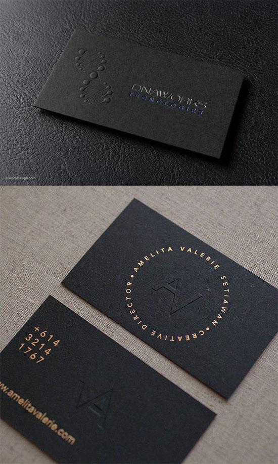 Mẫu name card kết hợp đặc sắc