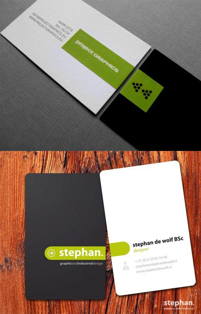 Tạo sự kết nối giữa mặt trước và mặt sau card visit