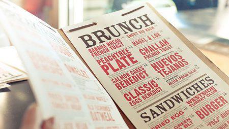 5 cách thiết kế menu nhà hàng làm thực khách thêm đói