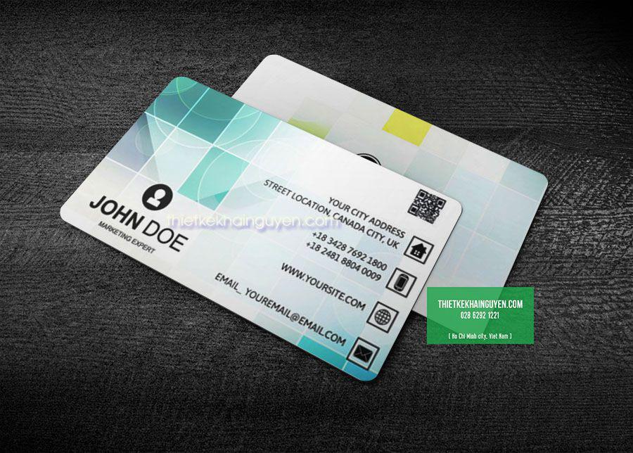 Sở hữu card visit thông minh với QR code