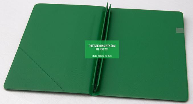 Mẫu menu kết hợp với kẹp bill