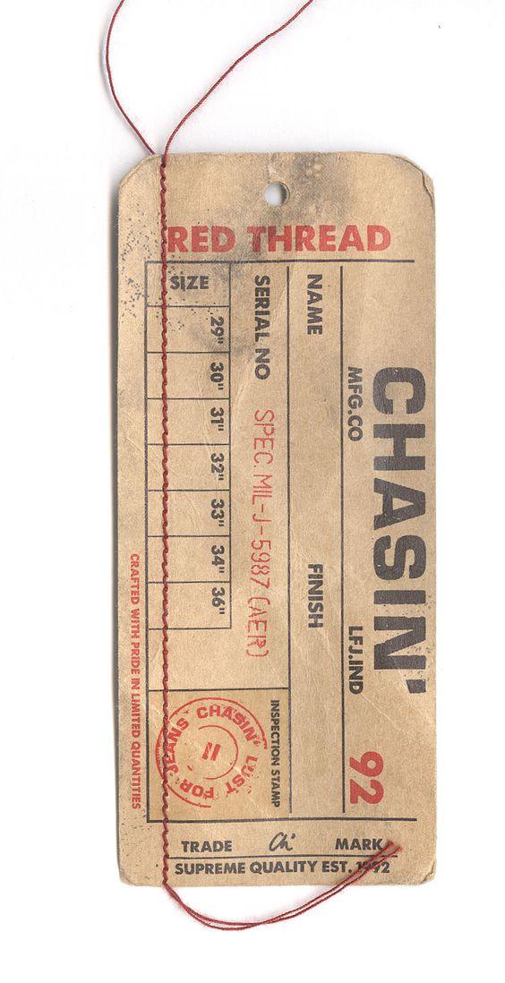 Thiết kế in tag treo bằng giấy Kraft dày