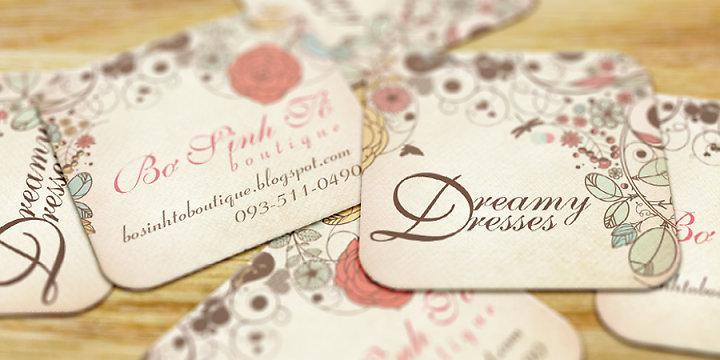 Thiết kế in ấn thẻ treo quần áo rẻ đẹp