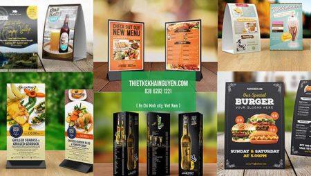 Phương pháp in menu để bàn giá rẻ tại TPHCM
