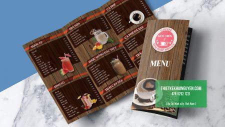 Phong cách thiết kế menu cà phê nào đang HOT hiện nay?