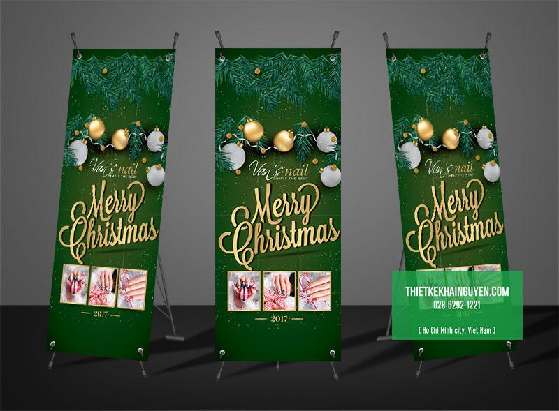 Poster chào mừng Merry Christmas