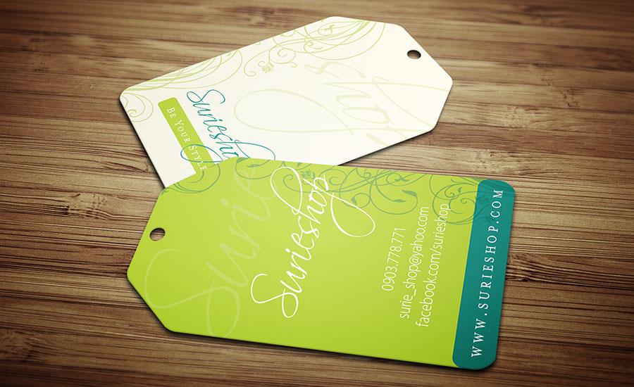 Thiết kế thẻ treo quần áo rẻ đẹp