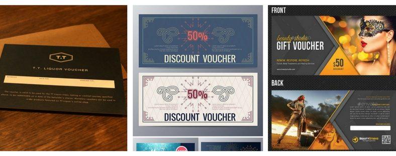 In thẻ giảm giá rẻ đẹp