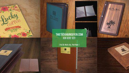 Giới thiệu các mẫu bìa menu đẹp cho nhà hàng, quán cafe, spa