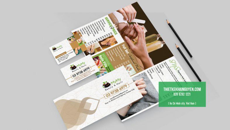 Bộ thiết kế cho Spa - In ấn thiết kế trọn bộ