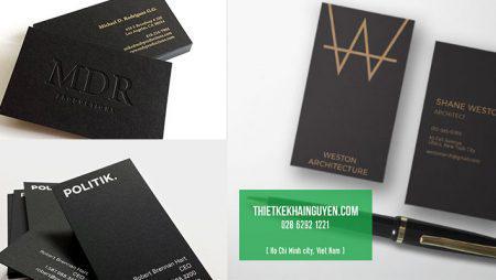 Thiết kế name card chuẩn in ấn tại TPHCM