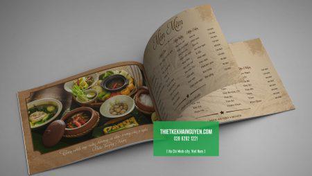Tư vấn cách chọn in menu quán ăn – cơm trưa văn phòng.