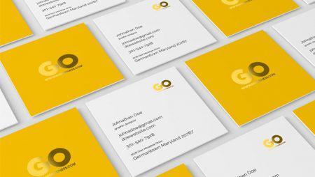 Thiết kế name card vuông – cách tạo ấn tượng đơn giản nhất