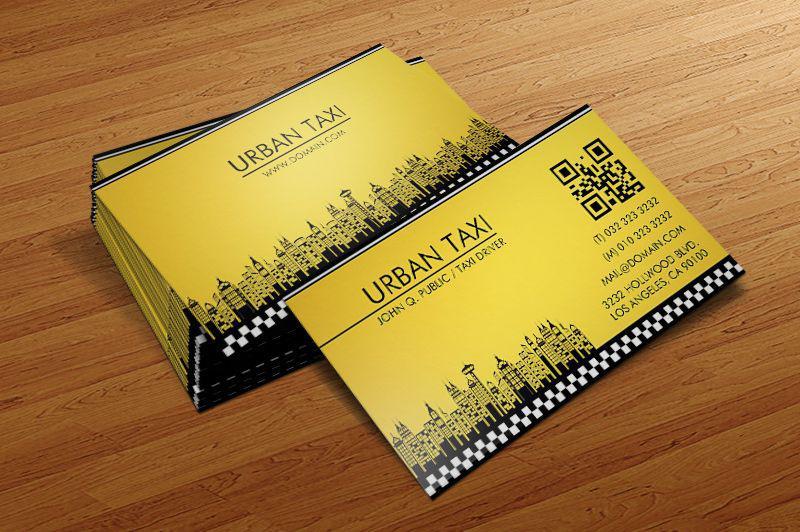 Thiết kế card visit hiện đại - hỗ trợ kết nối với điện thoại bằng qr-code