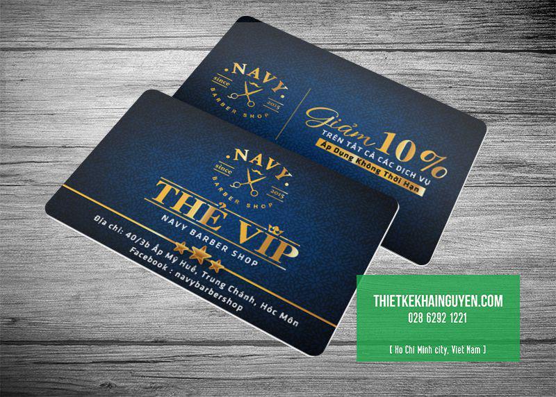 Thiết kế thẻ VIP/ VIP card bằng nhựa theo yêu cầu
